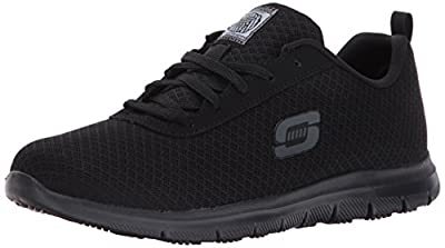 Skechers for Work Women's Ghenter Bronaugh Work and Food Service Shoe