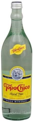 Sparkling Water: Topo Chico
