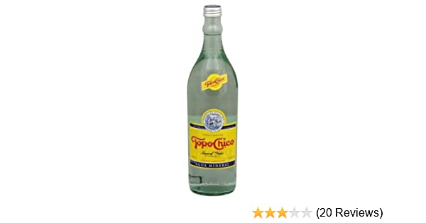 Interex Corp Topo Chico Mineral Water, 25 40-Ounce (Pack of 12)