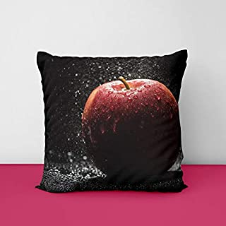 410UGort 3L. SS320 Fresh Apple Square Design Printed Cushion Cover
