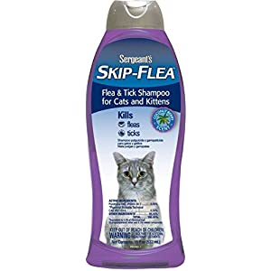 Skip-Flea and Tick Shampoo Cat Coconut Berry 18-Ounce 25