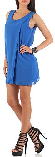 Vestido de de Talla Mujer Noche elegante than mailto more Ùnica 6878 fashion Verano Azul Vestido malito w8XgHzqx