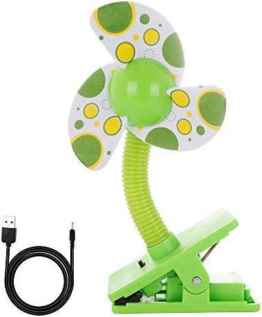 Powerking Ventilador de escritorio con clip, mini ventilador de ...