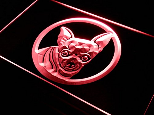 Chihuahua   Dog   Pet Lover Owner Themed Gift Basket Novelty Light Sign Present Idea   With Door Window Hanging Chain Plug In Night Light Up Illuminated Marquee Letter Home Decor (16