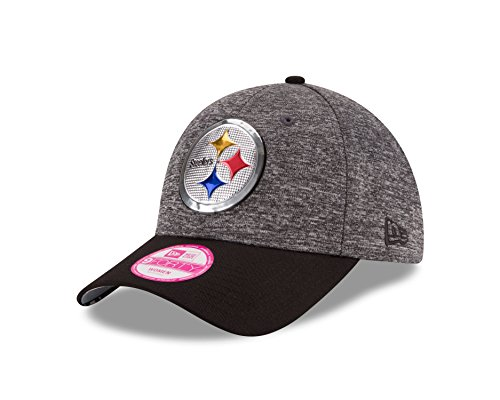 gh Steelers 2016 Draft 9Forty Adjustable Cap, Heather Gray/Black, One Size ()