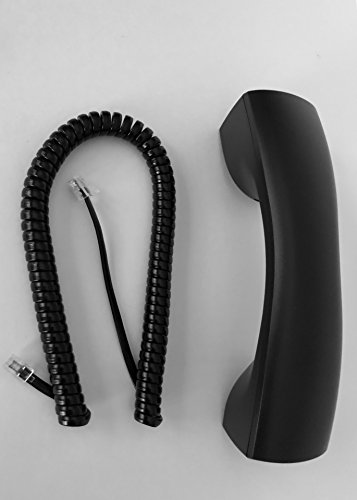 The VoIP Lounge Replacement Black Handset (includes 9' cord) for NEC Aspire Series Phone 0890072 0890041 0890042 0890043 0890045 0890047 ()