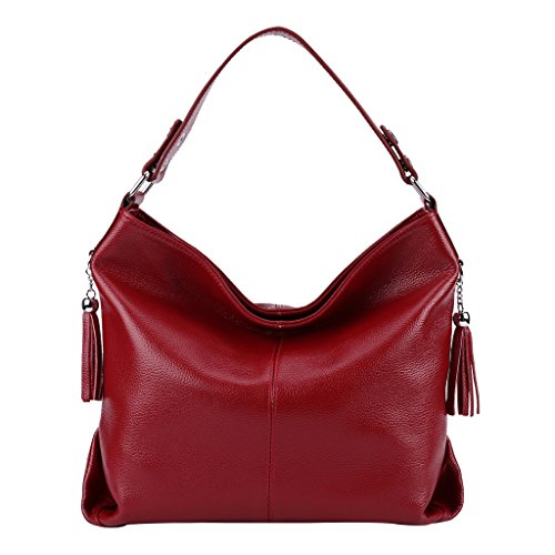 Mena Retro Women's Sacs Uk Tallow tout Leather Kraft Sac À Shopper Bandoulière Style Fourre Designer Rouge Package UqTdxHSwU