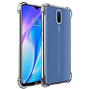 Soft Silicon Mobile Back Case Cover for Mi Redmi 8A