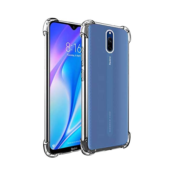 Soft Silicon Mobile Back Case Cover for Mi Redmi 8A
