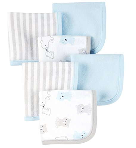 Carters Just Baby Boys Washcloths