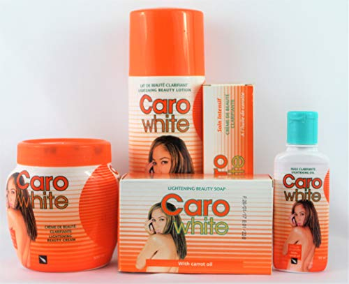 caro white super lightening beauty bundle 5 items set by Caro White