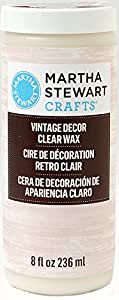 Martha Stewart Crafts Vintage Decor Wax (8-Ounce), 33562 Clear