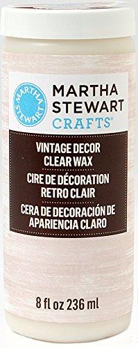 martha-stewart-crafts-vintage-decor-wax-8-ounce-33562-clear