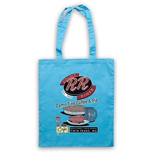 Inspire Pie D'emballage Fine Twin Clair Par R Diner Coffee Damn Double Officieux Bleu amp; Peaks Sac grwvngqO0