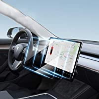 """Tesla Model 3 / Model Y 15"""" Center Control Touch Navigation Screen Protector, 9H Anti-Glare Shock Resistant Tempered…"""
