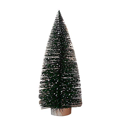 - CMrtew ❤️ OurWarm 1pcs Stand Mini Christmas Tree New Year Gifts Christmas Decorations for Home Small Pine Tree Placed in The Desktop (As Shown, 11.8inch/30cm)