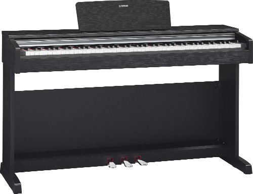 yamaha arius ydp142b black digital pianos digital pianos with stands keyboards zone. Black Bedroom Furniture Sets. Home Design Ideas