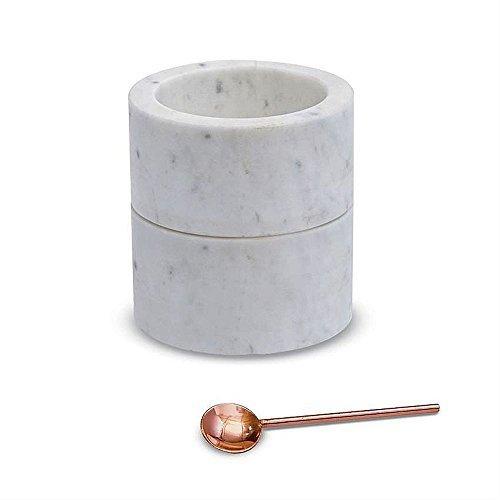 (Mud Pie Marble Salt & Pepper Cellar Set)