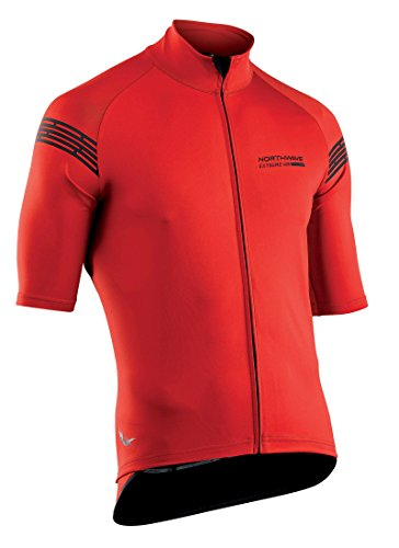 Northwave cycling light Jacket s/s Extreme H20 - total protection red by Northwave
