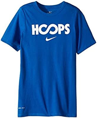 f5536536 NIKE Boys' Dry Just Hoops Graphic Basketball T-Shirt ... - Amazon.com