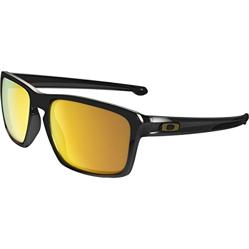 Oakley Men's Sliver (a) 0OO9269 Non-polarized Iridium Rectangular Sunglasses, POLISHED BLACK, 57 - What Polarized Of Advantage Is The Sunglasses