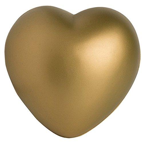 Golden Heart Stress Toy -