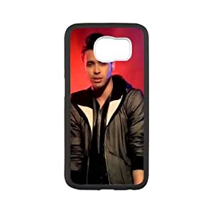 Samsung Galaxy S6 Cell Phone Case White Prince Royce E5K3M