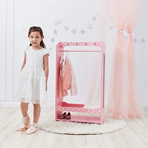 Teamson Kids Colore Rosa//Bianco TD-12949A Toy Dress up unit/à