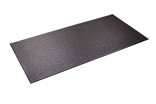 (Supermats Heavy Duty Equipment Mat 13GS Made in U.S.A. for Indoor Cycles Recumbent Bikes Upright Exercise Bikes and Steppers (2.5 Feet x 5 Feet) (30-Inch x 60-Inch) (76.2 cm x 152.4 cm) (Renewed))