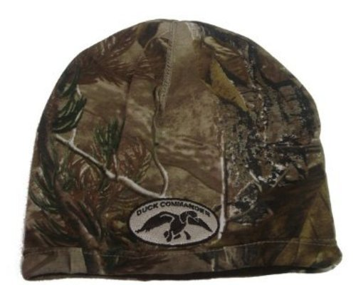 DUCK COMMANDER Camo and Brown Reversible Beanie DHCBB
