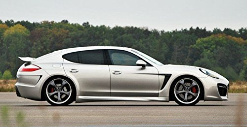 Amazon.com: Porsche Panamera TechArt Grand GT Style Rear Bumper Upgrade: Automotive