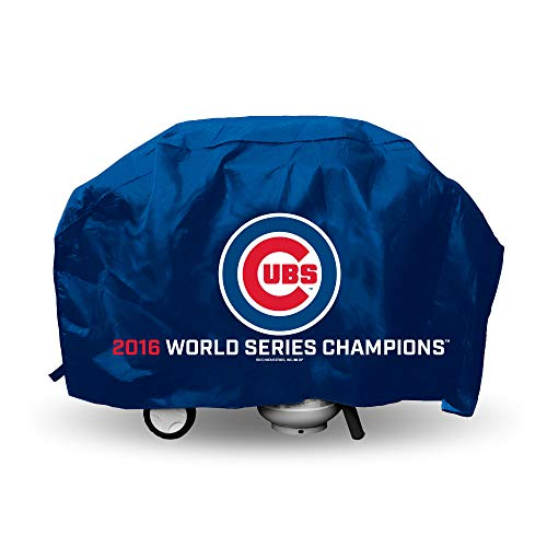 Rico MLB Chicago Cubs World Series Champions Grill Cover, New