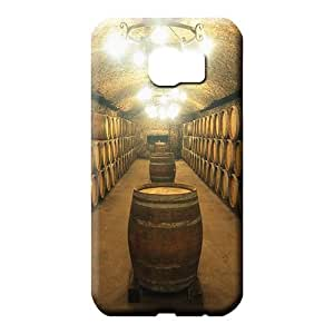 samsung galaxy s6 Extreme Defender pattern phone back shells barrels of wine aging