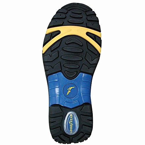 Sandalo da lavoro Goodyear G9000 S1P in pieno fiore di vitello idrorepellente con puntale in composito e soletta antiperforazione taglia 41
