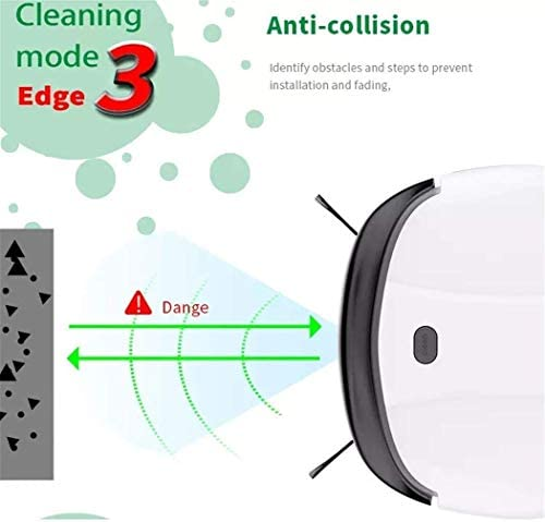 Auto-charge Aspirateur robot, intelligent sans fil rechargeable Mini Robot Mop Aspirateur Robot Balayer Idéal for les maisons avec Animaux dsfhsfd