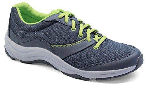 Vionic Kona Womens Orthotic Athletic Shoe Grey/Lime - 7.5 Medium