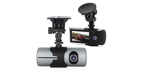 Amazon.com: eDealMax 2,7 pulgadas TFT LCD de pantalla ancha HD 1080P Doble ángulo de la cámara coche de la lente que Conduce el Video w G-Sensor GPS de ...