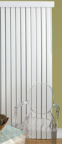 Lotus & Windoware Smooth Curved Vertical, 110 by 84-Inch, White