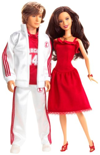 Amazon.com  Mattel High School Musical Gabriella   Troy 2-Pack  Toys   Games 0fe2fda48c