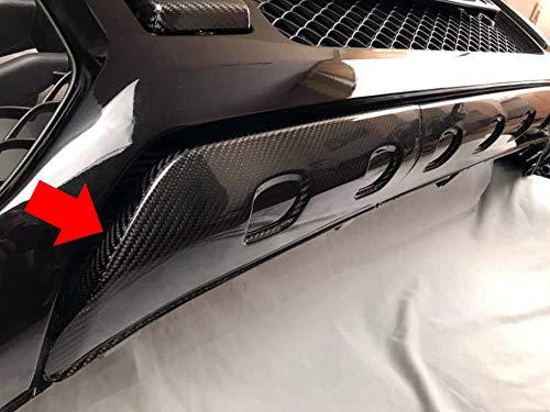 Lip Splitter G Wagon 2019 Style- Carbon Fiber Front Bumper Lip Spoiler for G Class W464 W463A Mercedes Benz 2018 2019 Vehicles Air Dam Consists of 2 Parts