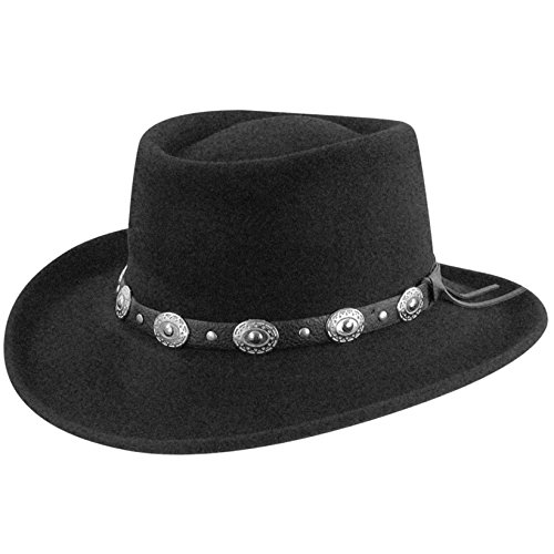 b747ffb4843a1b Eddy Bros. Men Gambler Hat Black M available in Qatar | | Doha, Al ...