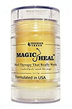 MagicHeal Heel Therapy That Really Works Cracked heels vanish like magic Premier Trends