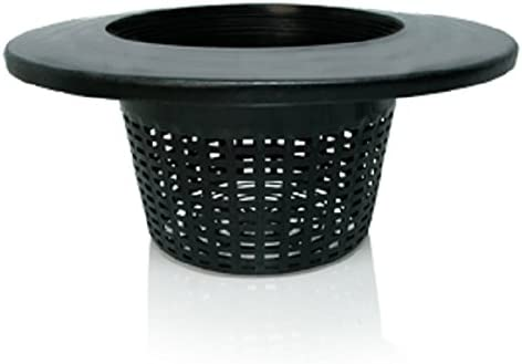 HydroFarm 6 Wide Lip Mesh Bucket Lid Basket 10 Pack