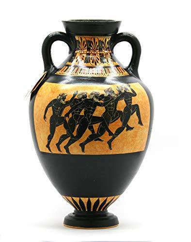 Amazon Panathenaic Prize Amphora Runners Ancient Greek Vase