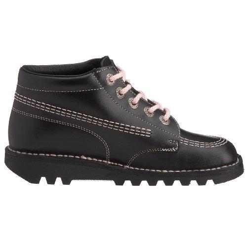 Kisses Kick Boot - Botas Black/pink