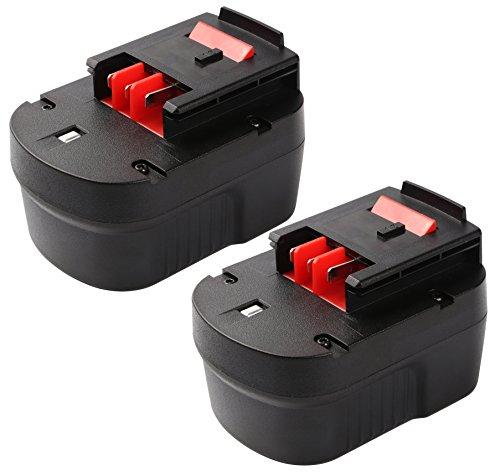 Enegitech 12V 3.0Ah Replacement Battery for Black & Decker A1712 FS120B FSB12 HPB12 A12 A12-XJ A12EX FS120B FSB12 Cordless Power Tools (Slide-Pack) 2 Pack