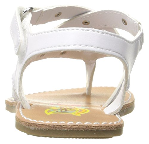 Pictures of Rachel Shoes Girls' Lil Panama Sandal White 8