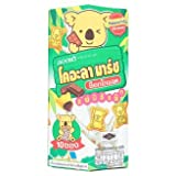 Koala March Chocolate Flavor Filled Biscuit 195g Each (6.8 Oz) 1 Box Snack Yummy comes with various cute acitons