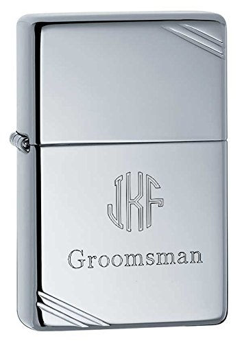 Personalized High Polished Zippo Lighter with Free Engraving (Zippo Lighter Polished)