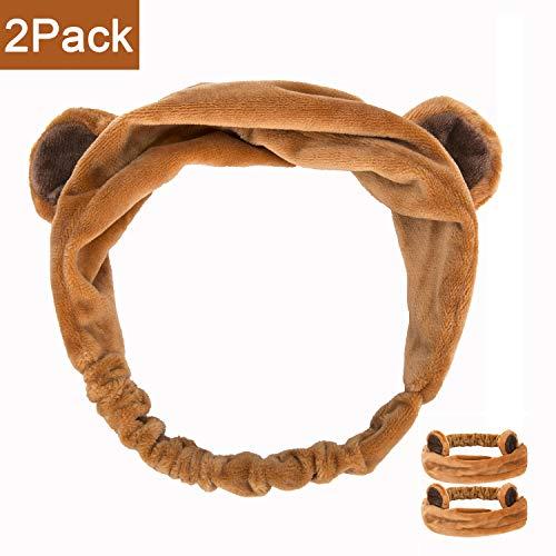 SweetCat 2PC Cute Bear Ears Headbands for $<!--$12.99-->